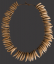 Hawaiian Dog Tooth Necklace, 'Lei Niho 'Ilio'