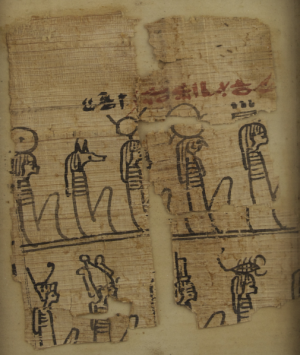 Ancient Egyptian Papyrus Fragment
