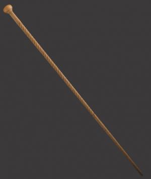 'Scrimshaw' Cane