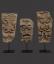 English 'Green Man' Limestone Architectural Heads