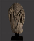 French Limestone Statue of a Saint